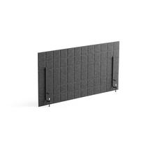 Stolový paraván Split, 1200x600 mm, tmavě šedý