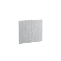 Akustický panel Split, 800x600 mm, světle šedý