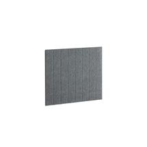 Akustický panel Split, 800x600 mm, tmavě šedý