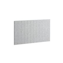 Akustický panel Split, 1200x600 mm, světle šedý