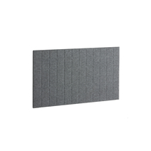 Akustický panel Split, 1200x600 mm, tmavě šedý