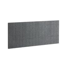 Akustický panel Split, 1600x600 mm, tmavě šedý