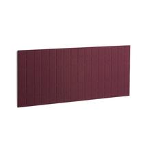 Akustický panel Split, 1600x600 mm, vínový
