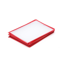 Kapsa A4, červená, balení 10 ks