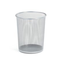 Odpadkový koš, 20 l, stříbrný