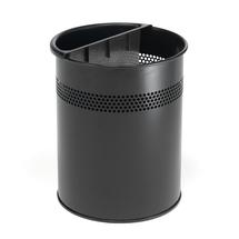 Kovový odpadkový koš