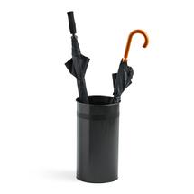 Stojan na deštníky Cylinde, Ø 260x460 mm, černý
