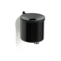 Nástěnný popelník Scott, výška 160mm, černý