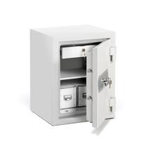 Ohnivzdorná skříň Shield, 120 minut, mechanický zámek na klíč, 640x490x465 mm