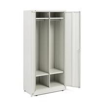 Šatní skříň, 1800x800x500 mm, šedá