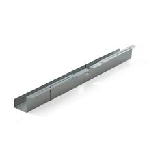 Nastavitelný držák na kabely, 920-1500x120x115 mm, stříbrný