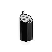 Nástěnný popelník Frank, bez stříšky, výška 290 mm, černý