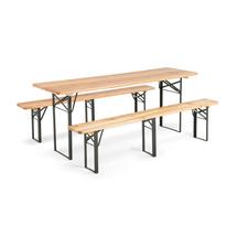Pivní set (stůl a 2 lavice)