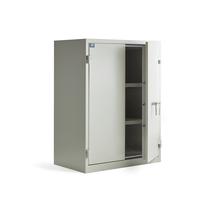 Bezpečnostní skříň Armour, s protipožární izolací, 1220x930x520 mm, zámek na klíč