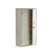 Bezpečnostní skříň, mechanický zámek, 1900x1000x500 mm