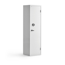 Bezpečnostní skříň, elektronický kódový zámek, 1900x575x500 mm