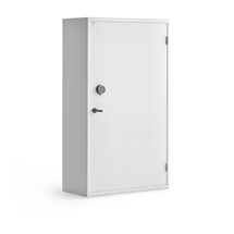 Bezpečnostní skříň, elektronický kódový zámek, 1900x1000x500 mm