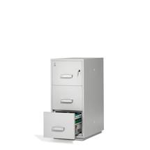 Ohnivzdorná kartotéka Ensure, 3 zásuvky, mechanický zámek na klíč