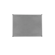 Nástěnka, 600x900 mm, šedá, hliníkový rám