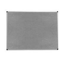 Nástěnka, 900x1200 mm, šedá, hliníkový rám