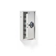 Skříňka na klíče, 100 háčků, el. kódový zámek, 550x300x100 mm