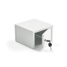 Schránka do lékárničky Cure, zámek na klíč, 150x220x230 mm
