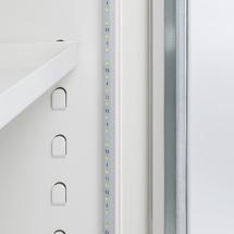 LED osvětlení pro ohnivzdornou skříň