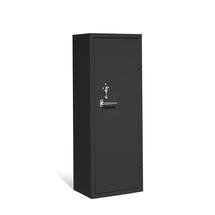 Bezpečnostní skříň, mech. zámek, černá