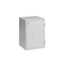 Ohnivzdorná bezpečnostní skříň Fort, zámek na klíč, 670x480x480 mm