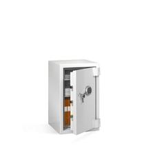 Ohnivzdorná bezpečnostní skříň, mechanický zámek, 845x510x580 mm