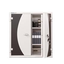 Ohnivzdorná skříň Trust, 1210x1160x605 mm, mechanický zámek na klíč