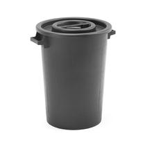 Plastová nádoba na odpad Benjamin, 75 l, černý