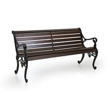 Parková lavička, 1500 mm, hnědá