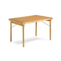 Skládací stůl Amber, 1200x800 mm, lakovaná dřevovláknitá deska/dřevěné nohy