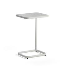 Stolek na notebook Standby, 425x350x647 mm, bílý, bílá deska
