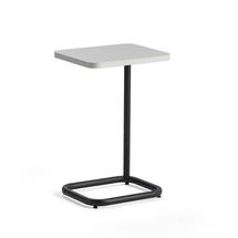 Stolek na notebook Standby, 425x350x647 mm, černý, bílá deska