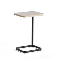 Stolek na notebook Standby, 425x350x647 mm, černý, šedobéžová deska