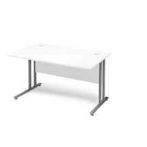 Kancelářský stůl Flexus, 1200x800 mm, bílá