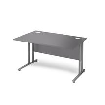 Kancelářský stůl Flexus, 1200x800 mm, šedá