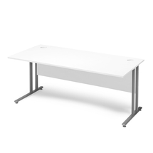 Kancelářský stůl Flexus, 1600x800 mm, bílá