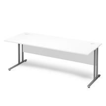 Kancelářský stůl Flexus, 1800x800 mm, bílá