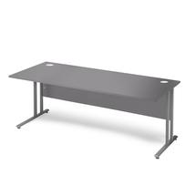 Kancelářský stůl Flexus, 1800x800 mm, šedá