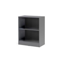 Otevřená policová skříň Flexus, 925x760x415 mm, šedá
