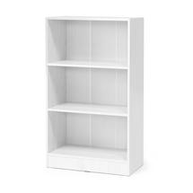 Otevřená policová skříň Flexus, 1325x760x415 mm, bílá