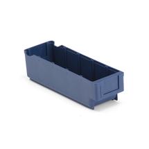 Plastový box Detail, 300x94x80 mm, modrý
