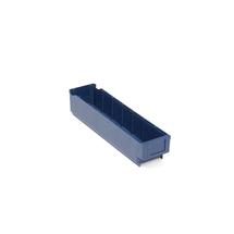 Plastový box Detail, 400x94x80 mm, modrý