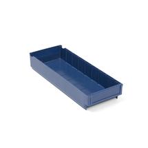 Plastový box Detail, 500x188x80 mm, modrý