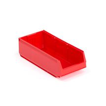 Plastový box 9000, série 9069, 500x230x150 mm, červený