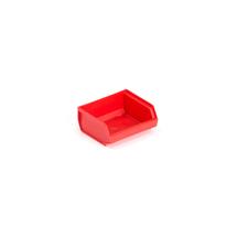 Plastový box 9000, série 9076, 96x105x45 mm, červený