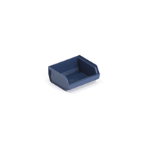 Plastový box 9000, série 9076, 96x105x45 mm, modrý